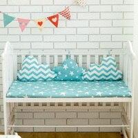 Wolken Form Stoßstangen Für Baby Krippe Bettwäsche Set 3 Pcs Verbunden Kissen In Baby Bett Baby Room Decor Neugeborene Bett protector Stoßstangen