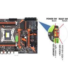 Новый x99 2011 v3pin ddr3 настольный компьютер игровая материнская
