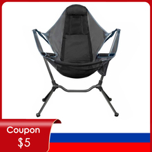 Camping Swinging Chair Relaxing Luxury Foldable/Folding  Chairs Rocker Recliner Outdoor Relaxed Stargaze Camp Chair