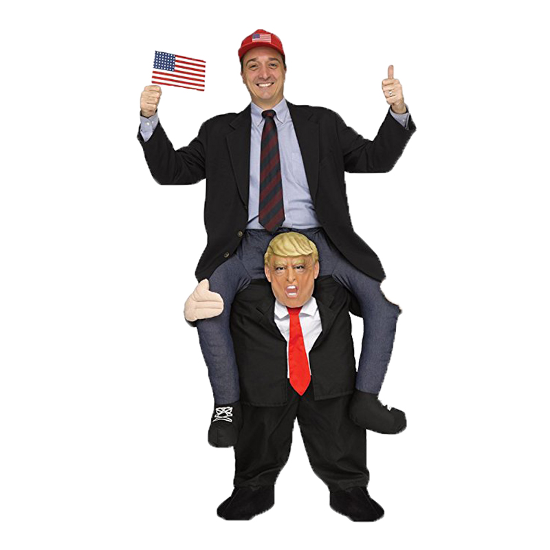 Donald Trump Inflatable Cosplay Rider Costume For Festival Halloween Carnival Performance