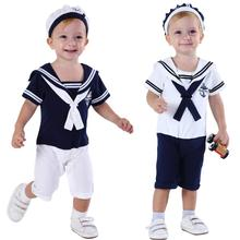 Sailor Romper Anchor Carnival-Outfit Toddler Infant Costume Cotton Clothes Cosplay Newborn