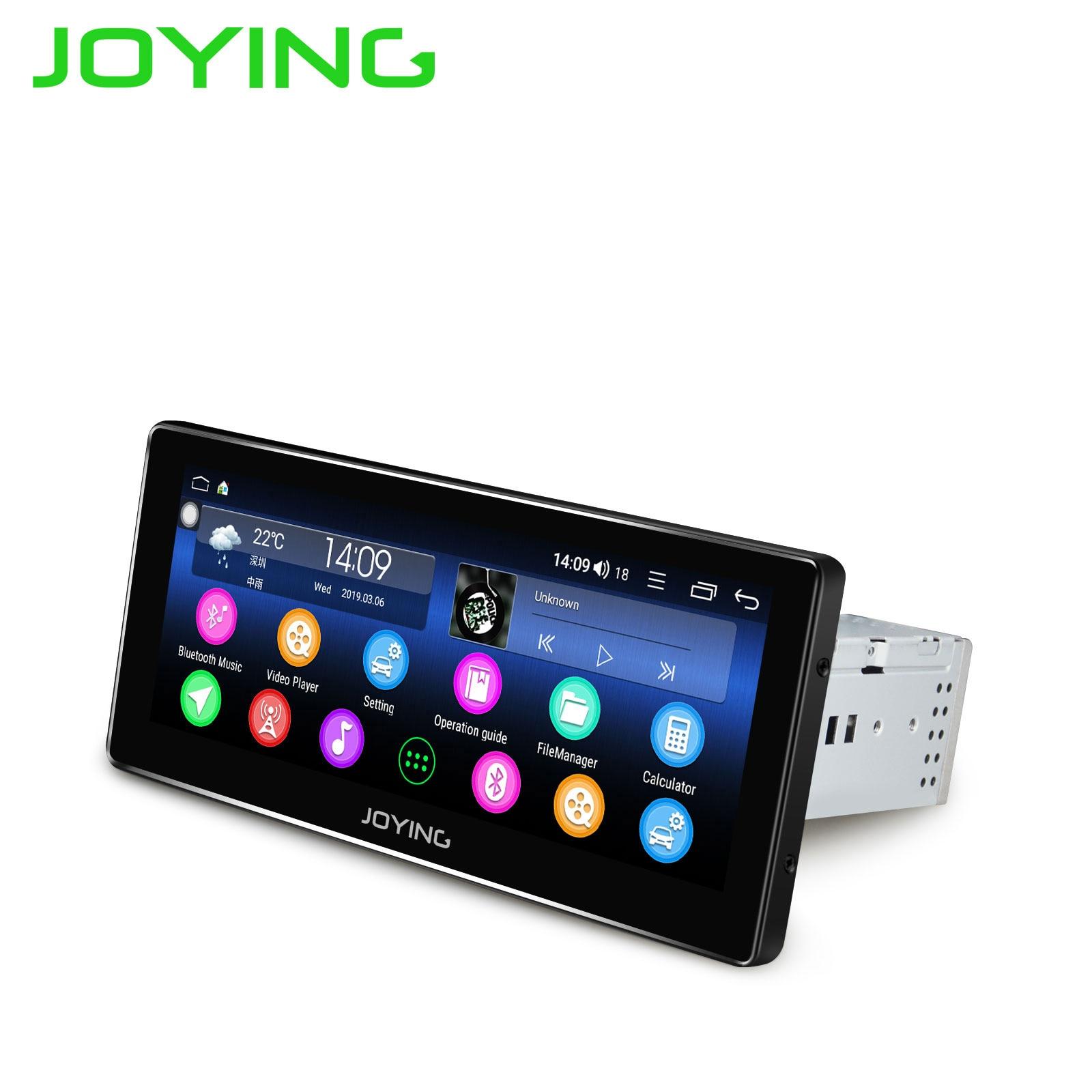 JOYING 8.8 Inch 1280*480 IPS Screen Android 8.1 Octa Core Universal Car Radio Player DSP Audio Stereo BT Music Autoradio SWC HD