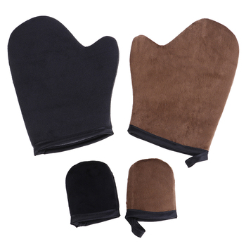 High Quality Reusable Body Self Tan Applicator Tanning Gloves Cream Lotion Mousse Body Cleaning Glove Self Tanner 1