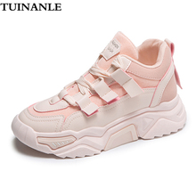 TUINANLE Breathable Mesh Sneakers Women Casual Shoe