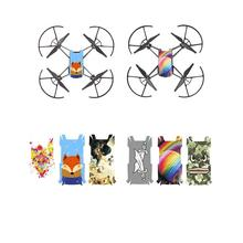 3pcs Colorful Waterproof PVC Stickers for DJI TELLO Drone Body Protective Film  Accessories