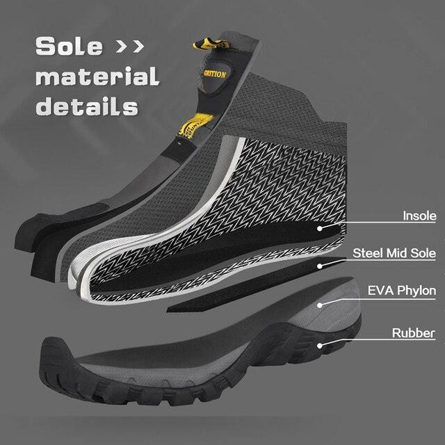Фото мужские походные ботинки grition водонепроницаемые зимние тактические