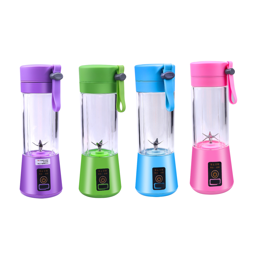 6 Blade Portable Juice Blender USB Juicer Cup Multi-function Fruit Mixer Blender Mixing Machine Smoothies Baby Food Dropshipping