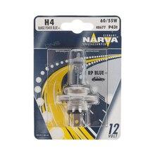NARVA H4 12 V-60/55 W (P43t) (white light-голуб. оттен.) RPB (blister card 1 PCs) 48677 (bl. 1)