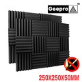 250x250x50mm Schallschutz Schaum Studio Akustische Schaum Keile Schalldichte Absorption Behandlung Panel Noise Isolation für Studio