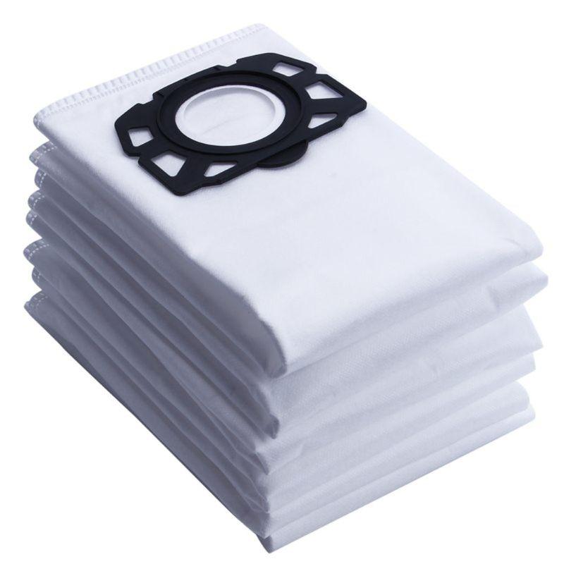 Ev Aletleri'ten Elektrikli Süpürge parçaları'de 10pcsVacuum elektrikli süpürge toz torbaları için tek kullanımlık Karcher MV4 MV5 MV6 WD4 WD5 WD6 title=