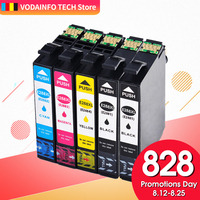 QSYRAINBOW Compatible Ink Cartridge for Epson 288 288XL (1 Black, 1 Cyan, 1 Magenta, 1 Yellow) 5 Pack for XP 330 XP 434 Printer