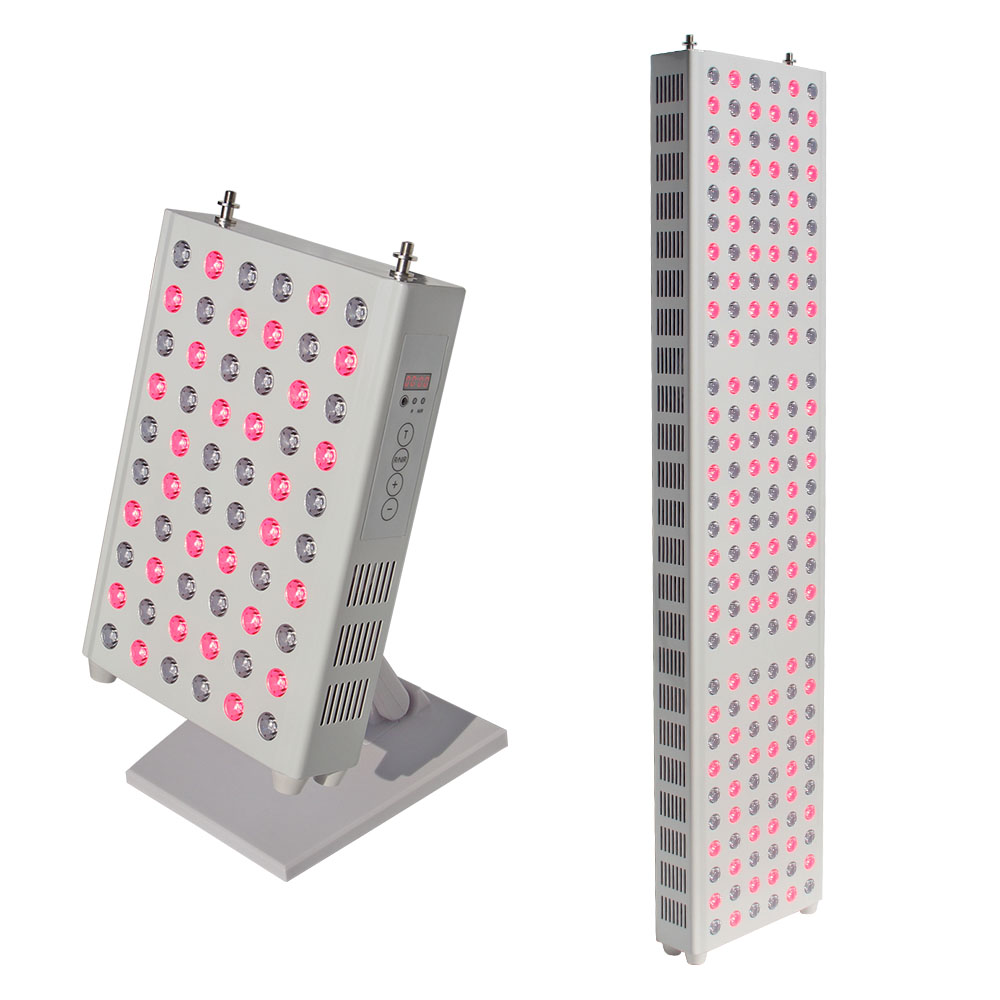 180W 300W LED Red Light Therapy Deep Red 660nm And Infrared 850nm Red Therapy Lamp For Skin Care And Pain