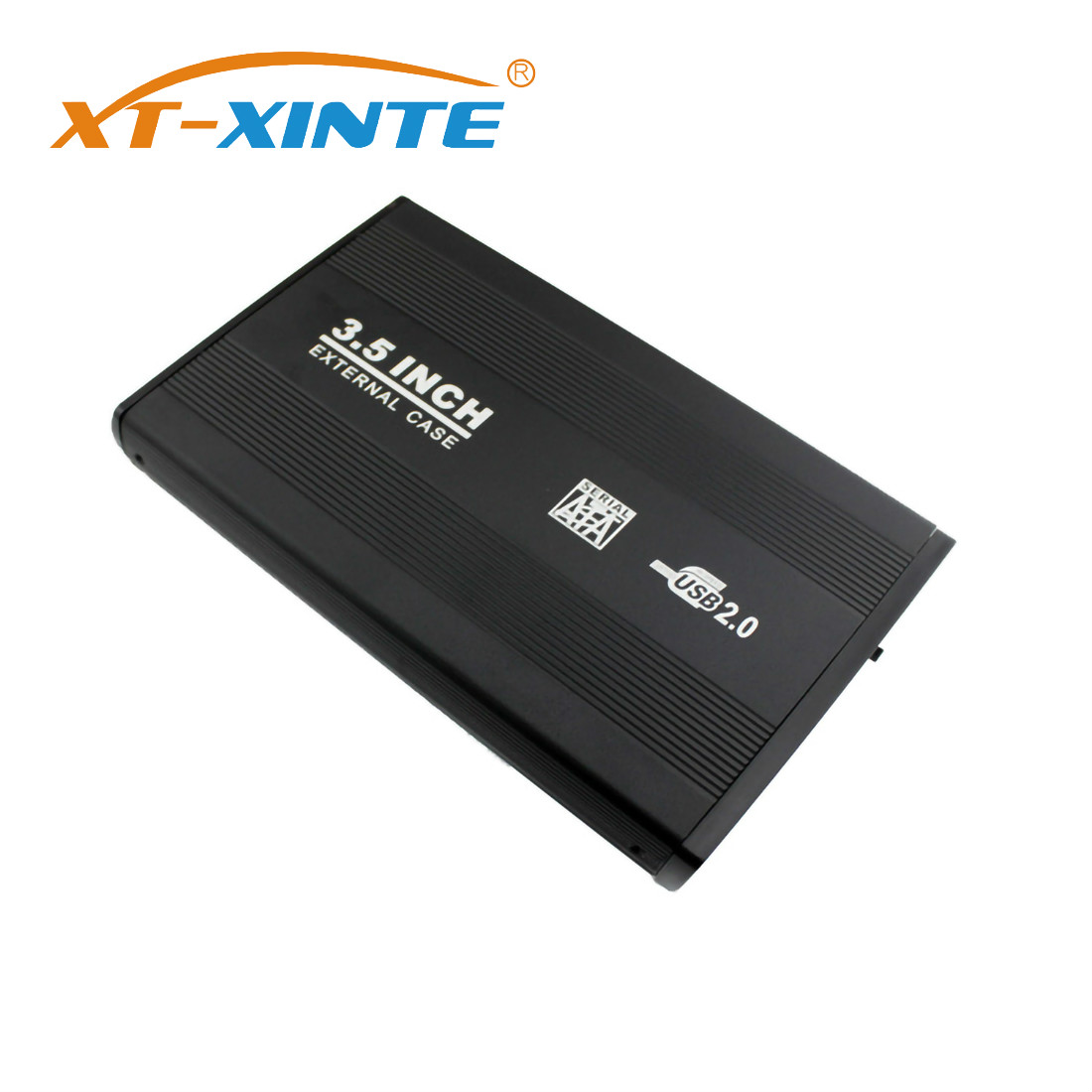 XT-XINTE 2.5 / 3.5 InchExternal Solid State  USB 3.0 5Gbps To SATA Port SSD Hard Drive Enclosure USB 2.0 480Mbps HDD Case