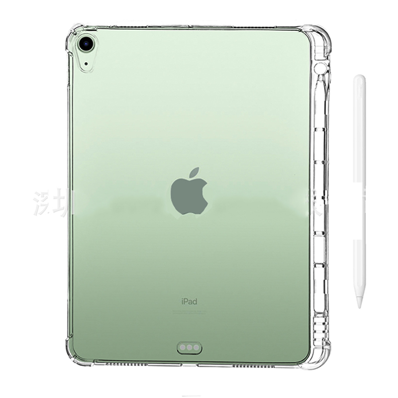 10.9 2020 Case iPad Back With 4 Soft Silicone Cover Tablet TPU Shell For Transparent Air