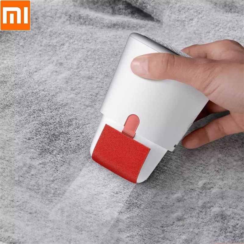 Xiaomi Deerma 2 In 1 Mini Portable Lint Remover Hair Ball Trimmer Sweater Cut Remover USB Charge Rechargeable