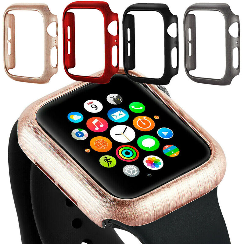 Watch Case Protective Cover Screen Protection for Apple Watch 40mm 44mm 42mm 38mm for iWatch Series 5/4/3/2/1 Watch Accessories