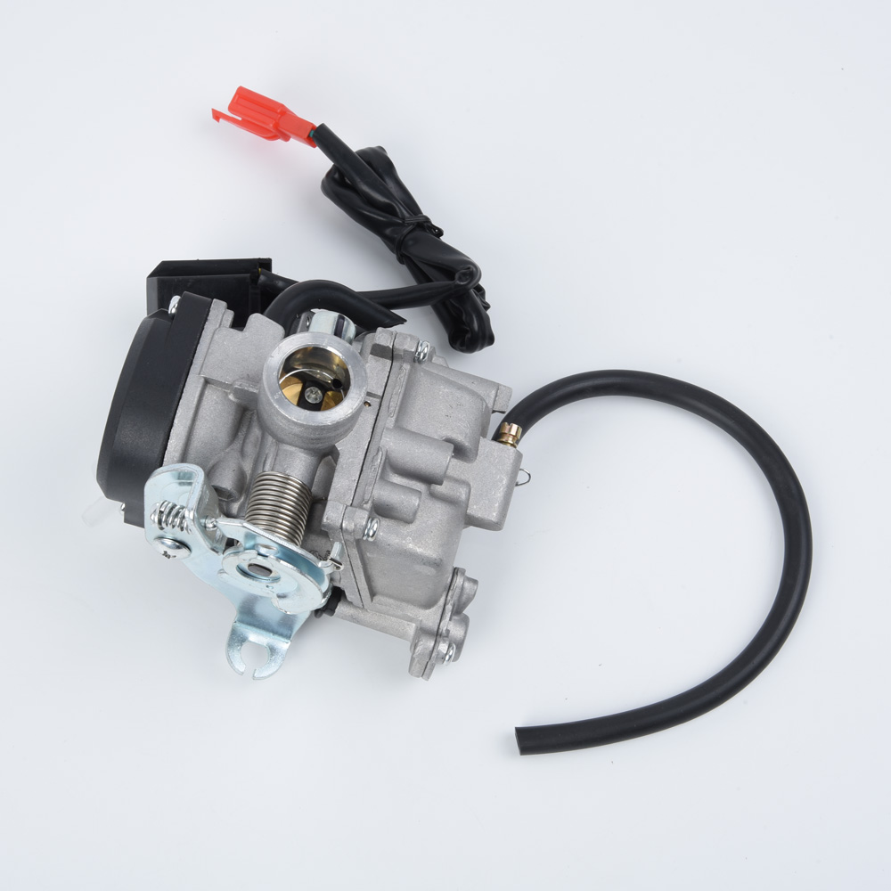 Motorcycle <font><b>Carburetor</b></font> Carburador For Chinese <font><b>GY6</b></font> <font><b>50cc</b></font> 60cc 80cc 100cc 139QMB 139QMA Scooter Throttle Replacement <font><b>Carburetor</b></font> image