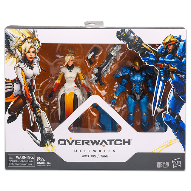 15cm Hasbro Overwatch Figure suit joint movable toy model Action PVC Collection Model Toy Anime Figure Toys For Kids