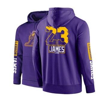 DPOY العلامة التجارية تصميم الغربية لكرة السلة الرجال الرياضة البلوز هوديس البلوفرات حجم كبير فضفاض القطن تيري ربيع 2020 جديد