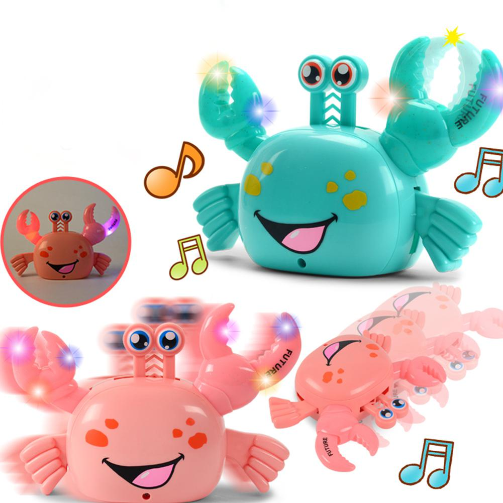 LeadingStar Electric Luminescent Universal Electric Crab Puzzle Toy For Children