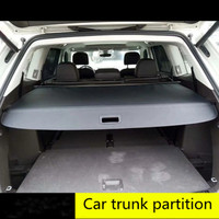 Auto rear trunk cargo cover for Volkswagen Tiguan auto accessories Car styling accessories Cover curtain trunk partition