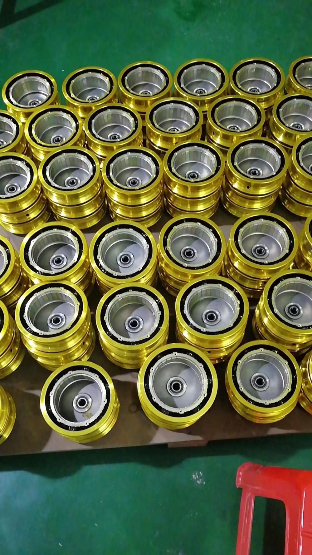 peças de vácuo pneu modificado roda sem escova conjunto do motor