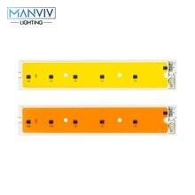 LED smart IC Chip pełne spektrum 50W LED COB wysłać rosną światła zimny biały DIY nie potrzebujesz sterownika W celu oszczędzania energii LED światło halogenowe