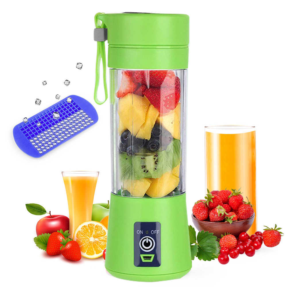 380ml Portable Juicer Electric USB Rechargeable good Blender Machine Mixer Mini Juice Cup Maker food processor