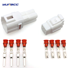 5 Sets 4 Pins Male Female MT090 Sealed Sumitomo Automotive Cable Connector Motorcycle connectors housing 6180-4771 6188-0004