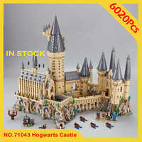 In Stock H warts Castle Magic Model 16060 Building Blocks Toys 6020Pcs Compatible with bela Movie 71043 Children Gift