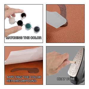 Image 4 - Visbella Leather Vinyl Repair Kit Auto Car Seat Sofa Coats Holes Scratch Cracks Rips Liquid  Leather Repair Tool Restoration