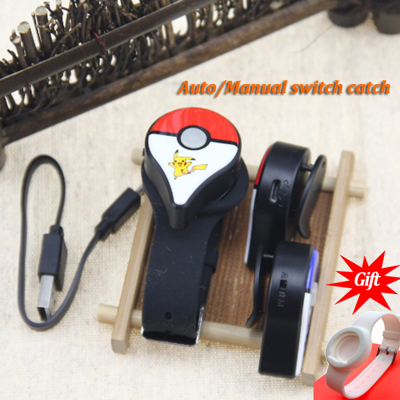 Newest Auto Catch Bluetooth Bracelet For Pokemon GO Plus With Rechargeable Battery Inside