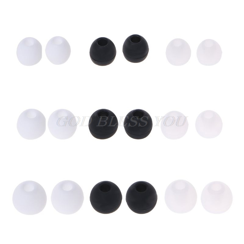 10Pcs Earplug Protective Cover 4.0mm In-ear Earphone Case for Xiaomi AirDots Youth Version for Airdots Pro TWS Wireless Earphone