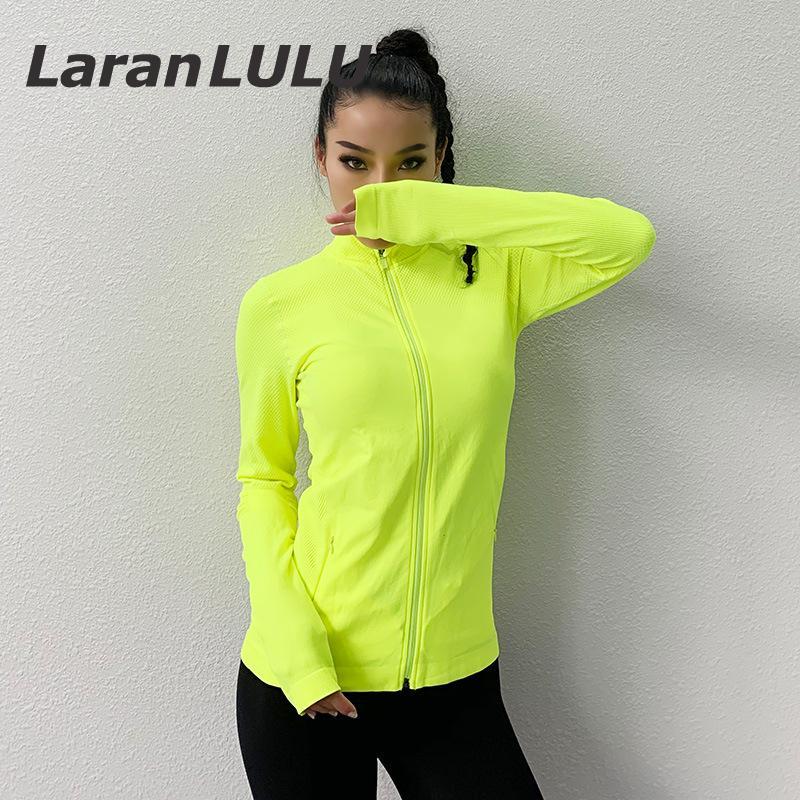 Womens Light Running Jacket Zipper Sportswear Windbreaker Run Long Sleeve Sports Jacket Ladies Workout Sweater Bicycle Outdoor