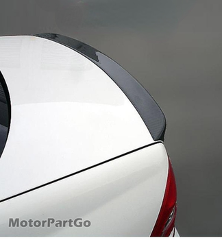 Applicable to 01-07 Mercedes Benz C-class w203amg tail wing carbon fiber tail top wing modified spoiler constant wind  M088 1