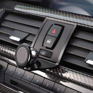 Image 3 - עבור BMW 1 3 4 סדרת GT F21 F22 F23 F30 F31 F34 F32 F33 F34 F35 F36 F80 F82 m4 רכב אוויר Vent נייד טלפון מחזיק (ללא לוגו)
