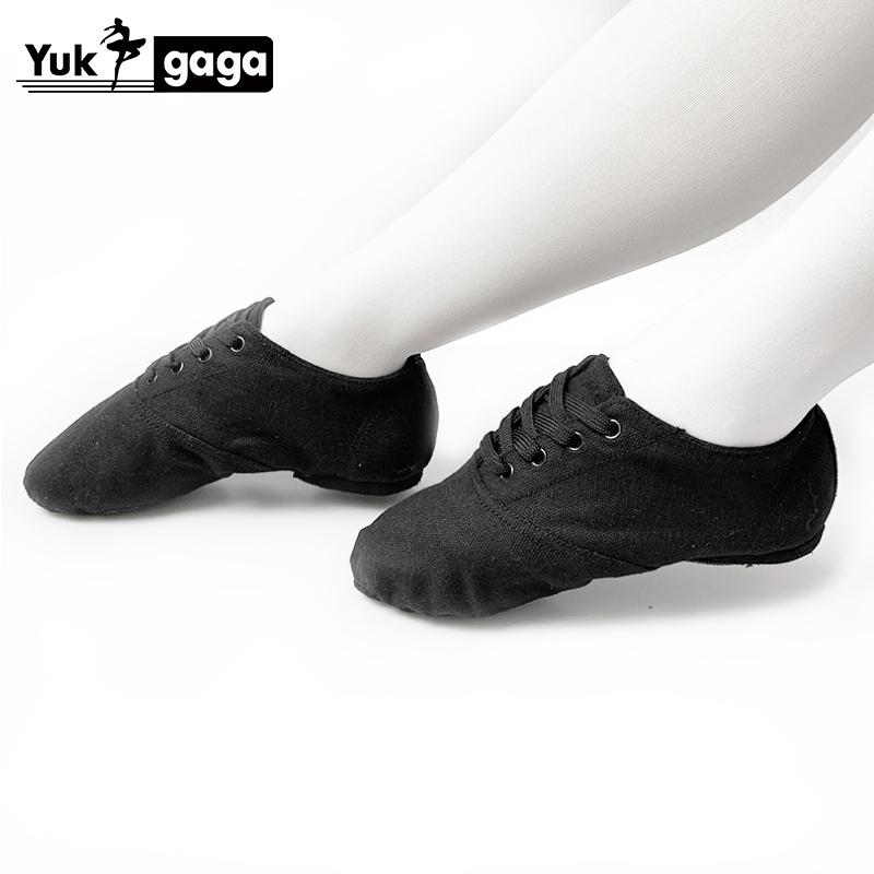 yukigaga Yoga Slippers Teacher Gym Indoor Exercise silk pink Ballet Dance Shoes Children Kids Girls Woman