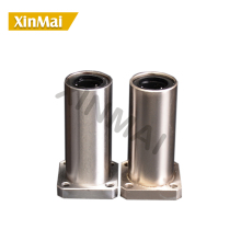цены 2pcs/lot LMK30LUU LMK35LUU square flange linear bearing 25mm square flange linear motion bearing cnc parts
