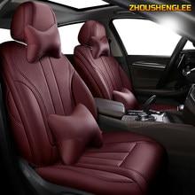 Personalizada De Couro tampa de assento do carro Para ROEWE 550 350 360 750 950 W5 E50 E950 E550 RX5 i6 ei6 RX3 ei5 RX8 i5 tampa de assento carros