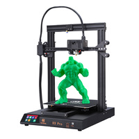 MINGDA D3 PRO auto leveling 320x320x400mm large 3D Printer with direct extruder soft magnetic pad DIY 3D print kit