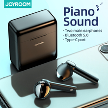 JOYROOM TL8 Bluetooth Earphone Wireless TWS Dual Connection Headphone Hall Earbuds with Microphone Headset Piano Sound
