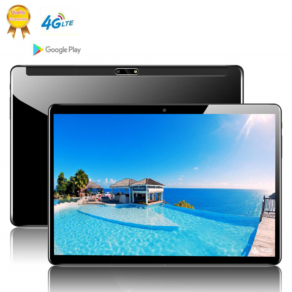 10 Deca Core 12GB ROM 10 Inch Tablet PC 8GB RAM SIM Unlocked 3G WiFi 4G LTE Bluetooth Android 9.0 Glass Tablets 10.1 The Tablet