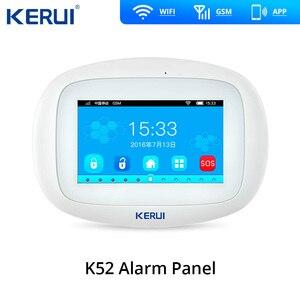 Image 2 - Keru iK52 sistema de seguridad con alarma GSM, sistema antirrobo para puerta, recordatorio abierto, Sensor de humo