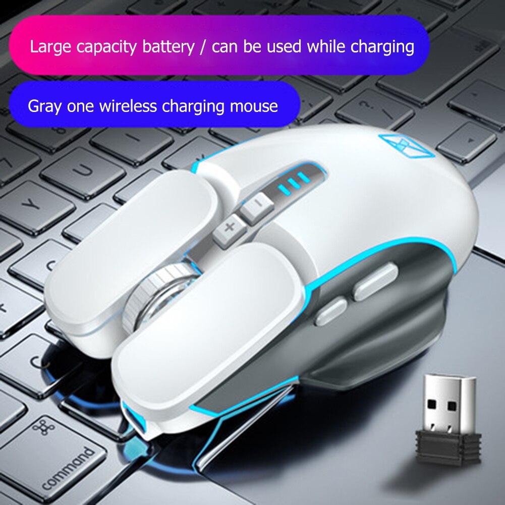 Беспроводной игровой Мышь M215 2,4 ГГц Перезаряжаемые 800-2400 Точек на дюйм мыши бытовой Компьютерные аксессуары для PC Gamer
