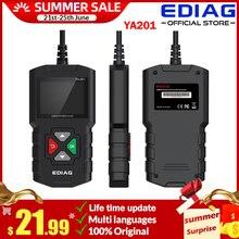 EDIAG YA201 OBD2รหัส Reader อัพเกรด USB อายุการใช้งานฟรี YA 201 OBD II เครื่องสแกนเนอร์เครื่องยนต์เครื่องมือวินิจฉัยรถยนต์ดีกว่า CR3001 KW590