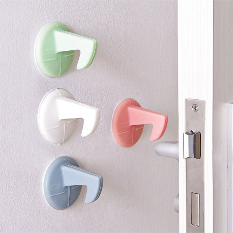 Child Lock Blocker Doors Handle With Hook Protection Baby Newborn Safety Care