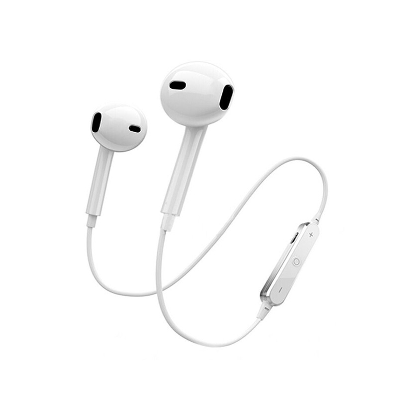 <font><b>S6</b></font> <font><b>Bluetooth</b></font> <font><b>Earphones</b></font> Wireless Sports Mini Dual Handle Stereo Gift image