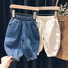 VIDMID Spring autumn children Baby kids girls casual pants trousers boys girls casual fashion jeans demin pants trousers P2083