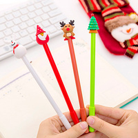 40 Pcs Christmas Gel Cute Santa Claus Pen for Writing School Office Christmas Gifts Cute Stationary Christmas Novelty Gel Pens|Banner Pens| |  -