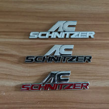 Hoge kwaliteit ABS stickers voor BMW AC-SCHNITZER Staart model embleem Auto sticker voor e46 e90 e60 e39 e36 f30 f10 f20 accessoires(China)